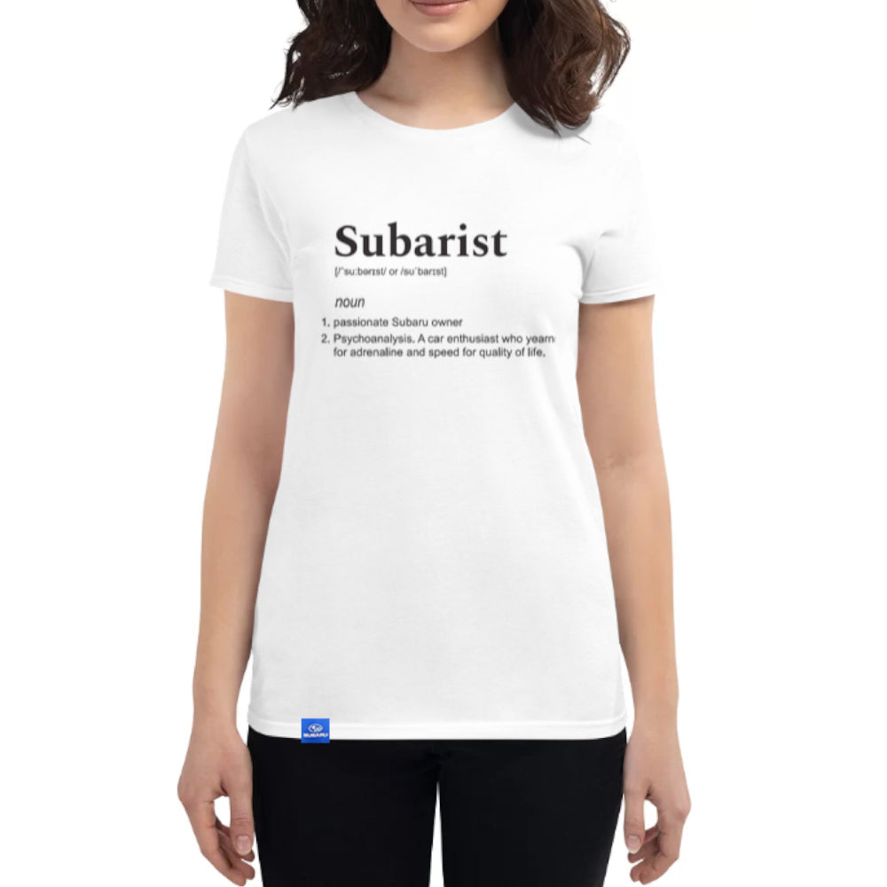 Subaru Tee - Dictionary (Ladies)