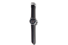 Subaru Black Leather Choreographic Watch