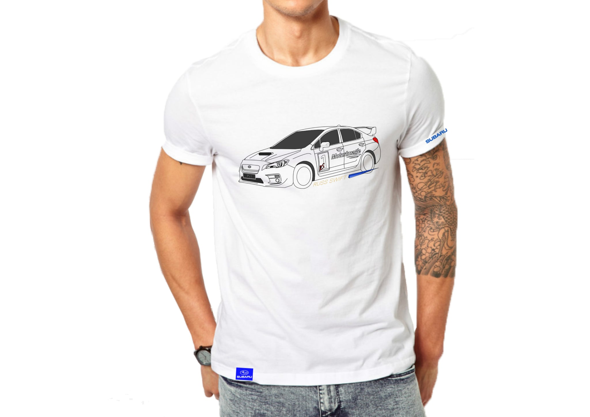 Subaru Russ Swift Tee