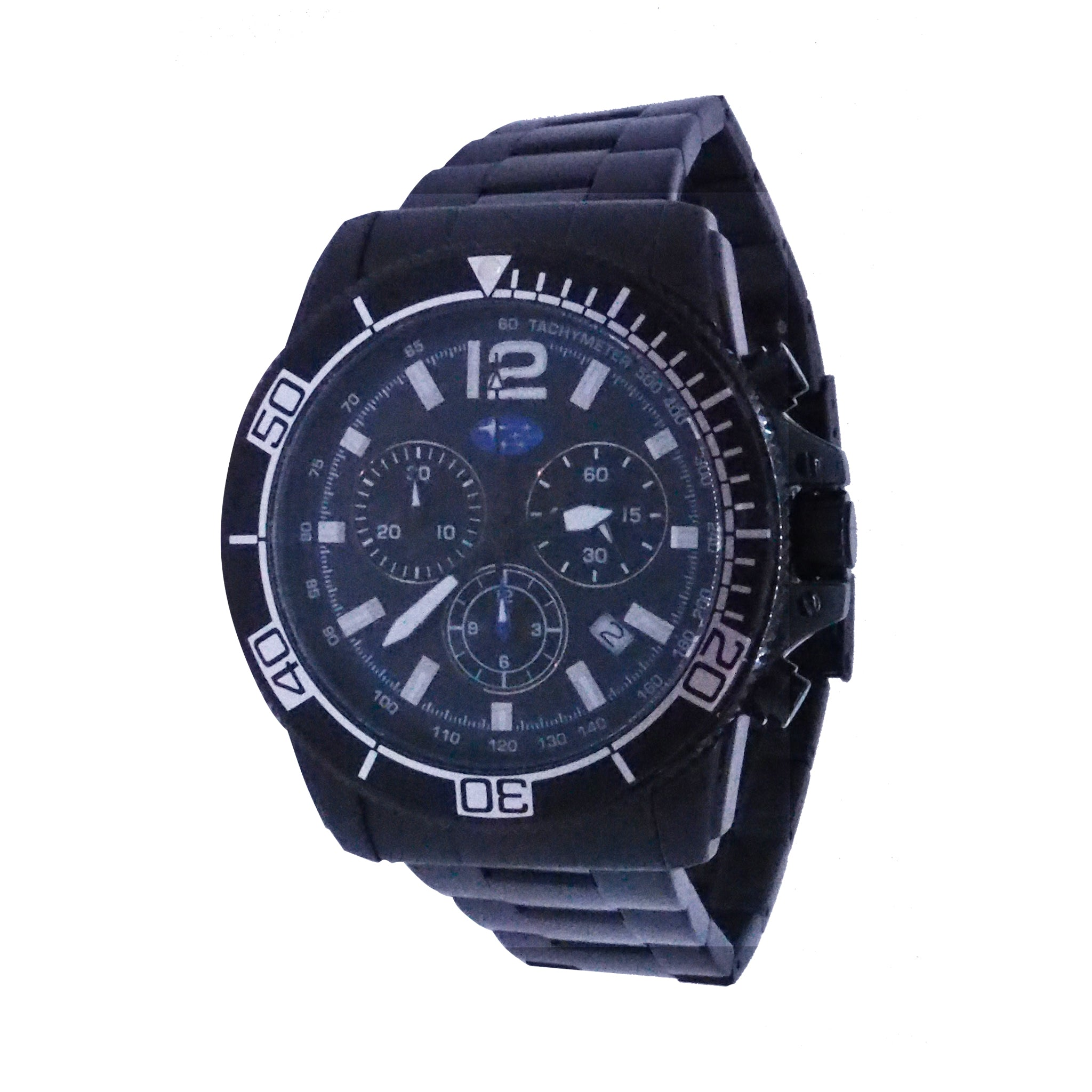 Subaru Motorsports Platting Wrapped Edge Chronograph Watch