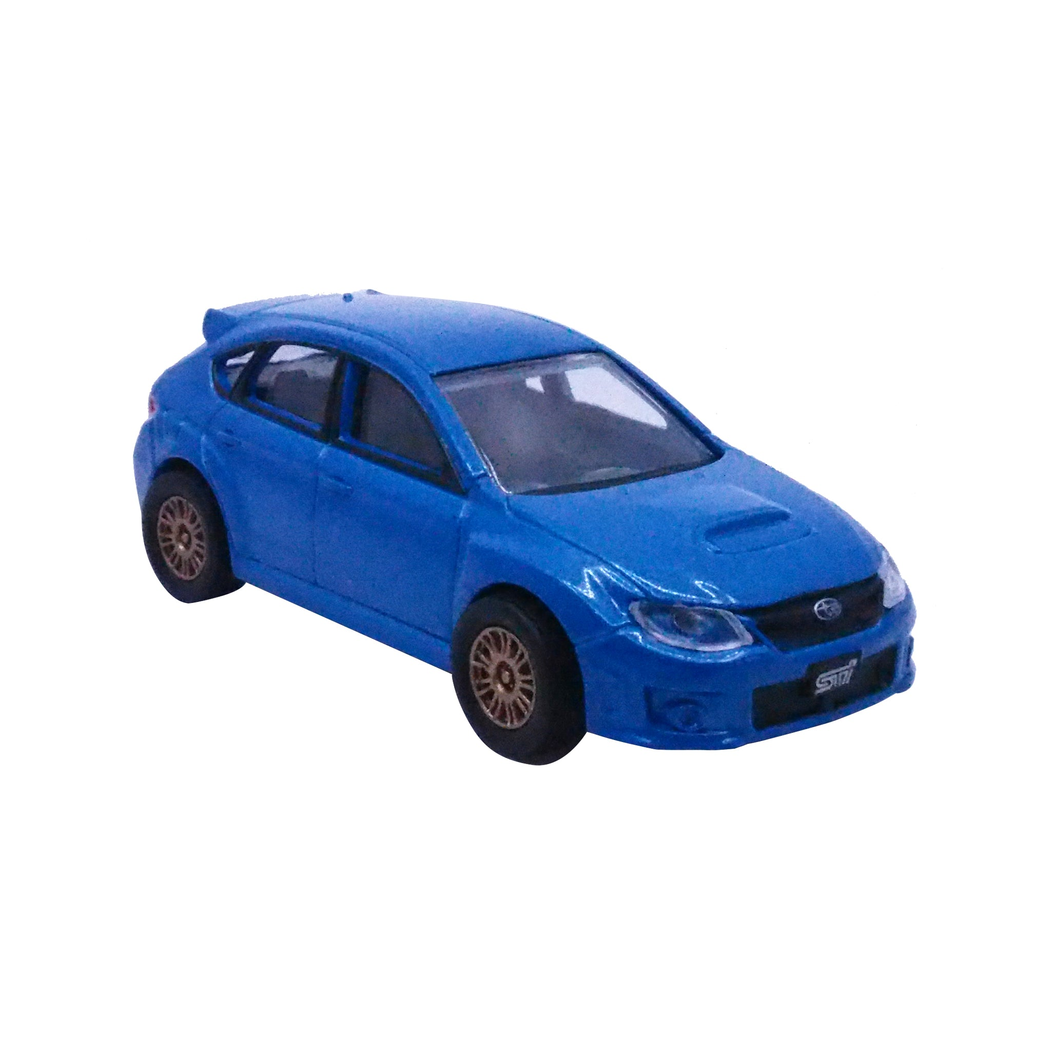 Subaru STI Diecast Model Car 2008