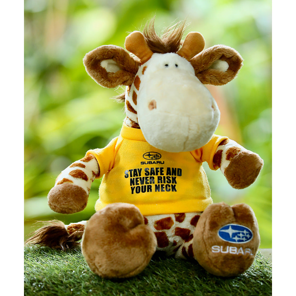 Subaru Safety Ambassador - Stay Safe Giraffe
