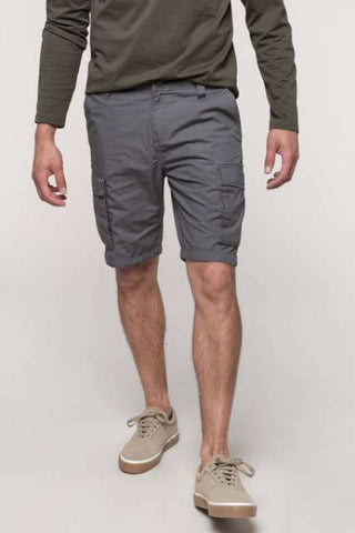 MEN'S LIGHTWEIGHT MULTIPOCKET BERMUDA SHORTS