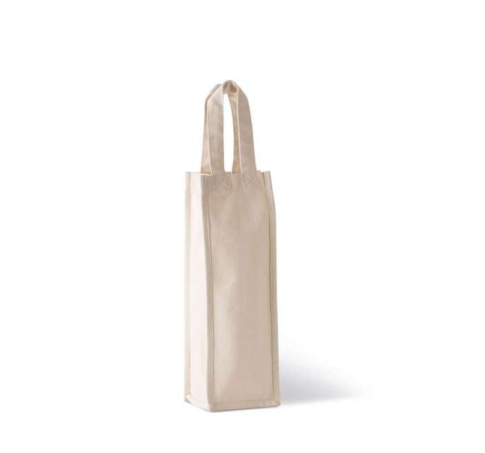 COTTON CANVAS BOTTLE BAG