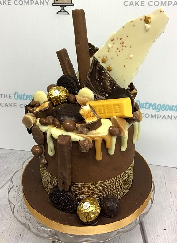 Chocoholic Dream Drip Cake