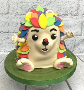 Rainbow Hedgehog Cake Workshop - 5th September 2020