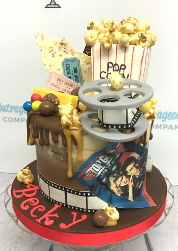 Bespoke Cake - Night at the Movies
