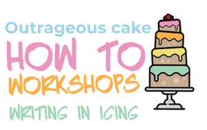How to workshop - Sugarcraft skills - Writing in icing