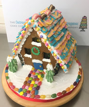 Handmade Gingerbread House [Filled with Sweets]