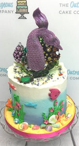 Outrageous Mermaid Cake