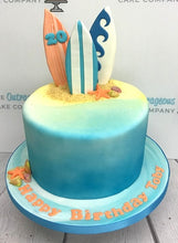 Surfin Beach Cake