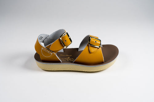 Salt Water Sandal surfer mustard