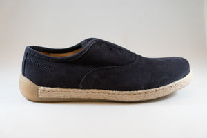 Gallucci loafer nubuck blauw