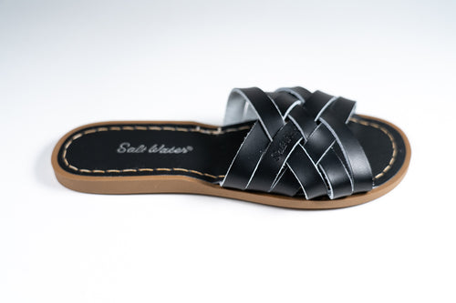 Salt Water Sandal retro slide Black