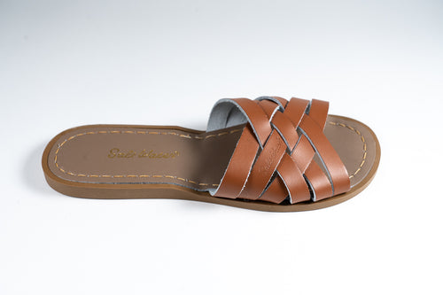 Salt Water Sandal retro slide Tan