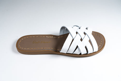 Salt Water Sandal retro slide White