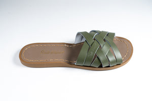 Salt Water Sandal retro slide Olive