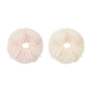 Super soft furry Schrunchies