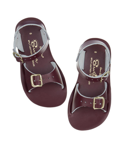 Salt Water Sandal surfer claret