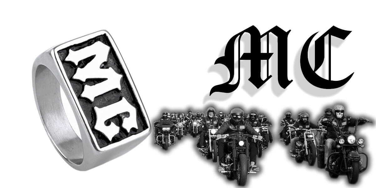 Bague Moto Club (Bikers)