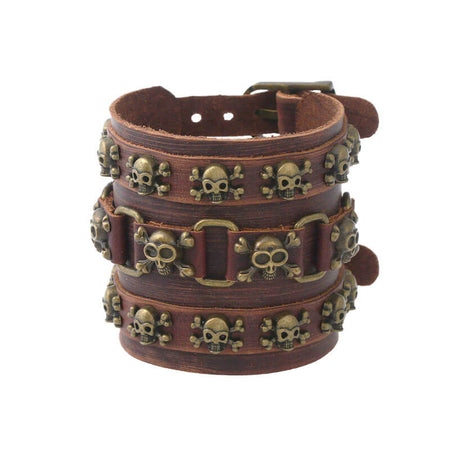 Bracelet Motard Force (Skull)