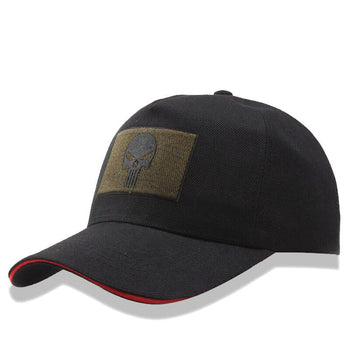 casquette-patch-broderie-tête-de-mort-punisher