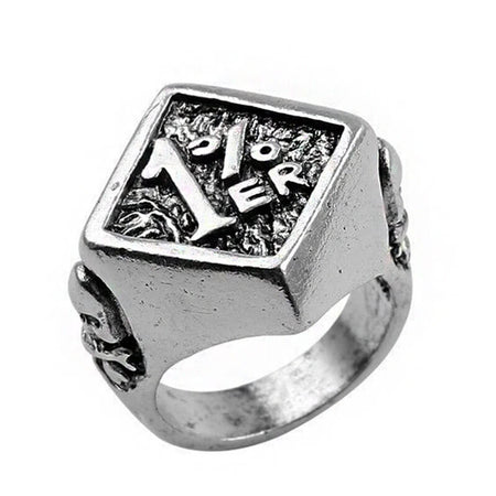 bague skull type 1%er bikers-outofroad