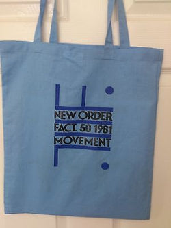 NEW ORDER  - COTTON TOTE BAG (Machine Washable)