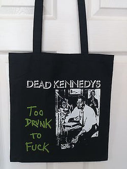 DEAD KENNEDYS COTTON TOTE BAG (Machine Washable)