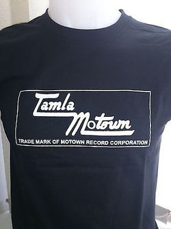 TAMLA MOTOWN - NORTHERN SOUL - MOTOWN COTTON T-SHIRT