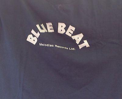 BLUE BEAT - MOD / REGGAE COTTON T-SHIRT