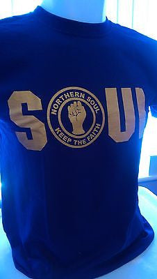 MALE - SOUL (NORTHERN SOUL) 100% COTTON T-SHIRT