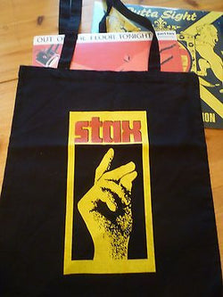 STAX  - COTTON LP TOTE BAG (Machine Washable)
