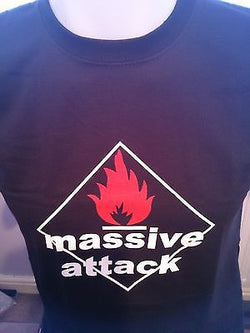 MASSIVE ATTACK - COTTON T-SHIRT