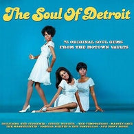 THE SOUL OF DETROIT CD - 75 ORIGINAL SOUL GEMS FROM THE MOTOWN VAULTS