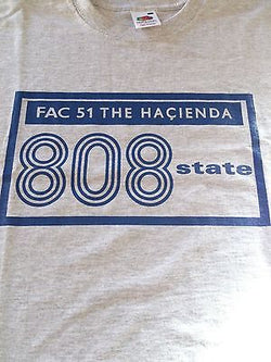 808 STATE - FAC 51 THE HACIENDA-100% COTTON T-SHIRT