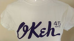 OKEH  - NORTHERN SOUL -  FEMALE  - 100% COTTON T-SHIRT