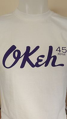 OKEH (MALE) - NORTHERN SOUL - 100% COTTON T-SHIRT