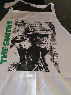 THE SMITHS - MEAT IS MURDER APRON - 100 COTTON