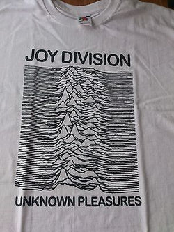 JOY DIVISION UNKNOWN PLEASURES  COTTON T-SHIRT