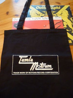 TAMLA MOTOWN  - COTTON LP TOTE BAG (Machine Washable)