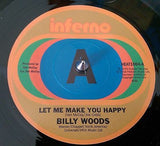 BILLY WOODS - LET ME MAKE YOU HAPPY - DEMO COPY