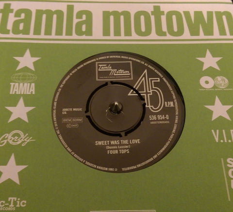 FOUR TOPS  - SWEET WAS THE LOVE (TAMLA MOTOWN) Mint Condition