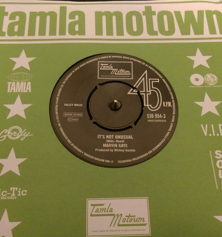 MARVIN GAYE - IT'S NOT UNSUAL - NORTHERN SOUL - MOTOWN