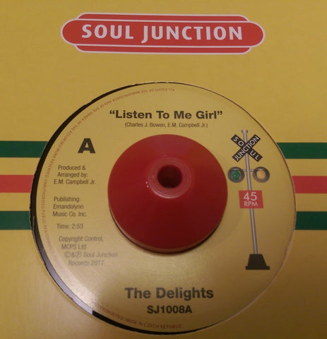 DELIGHTS - LISTEN TO ME GIRL (SOUL JUNCTION) Mint Condition