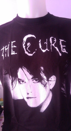 THE CURE - ROBERT SMITH - 100% COTTON T-SHIRT