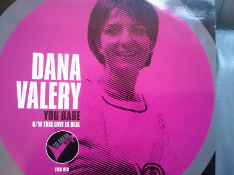 "DANA VALERY - YOU BABE ( GO AHEAD ) CROSSOVER SOUL  - 7"" Vinyl 45 Single"
