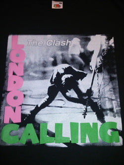 THE CLASH - LONDON CALLING  COTTON T-SHIRT
