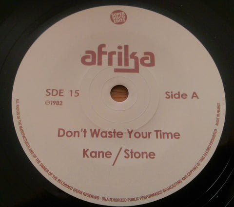 AFRIKA - DON'T WASTE YOUR TIME (SUPER DISCO EDITS) Mint Condition