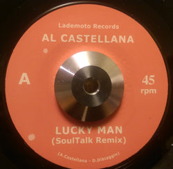 Al CASTELLANA - LUCKY MAN (LADEMOTO) Mint Condition